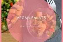 Vegan Salads / Salate vegan, gesund, schnell