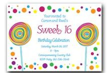 Celebration by dot & bow / Celebrate the special moment in your life with custom designed announcement, invites, thanks you and more at http://dotandbowpaperie.com