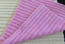 Klude crochet knitted discloth