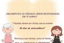 Mãe & Filha Artesanatos- Nossos Trabalhos / Trabalhamos com: biscuit, feltro, mdf ,tecido e bordados.  Nos encontre em nossa loja virtual e rede social:  www.elo7.com.br/maeefilhaaartes/loja   www.facebook.com/Mãe-Filha-Artesanatos-169965743066944/?ref=bookmarks