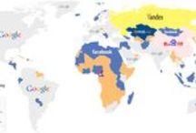 Internet / Internet and World wide web Top Ten list by AllTopTens.com
