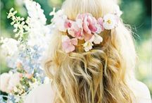 Braut Haarschmuck  / Braut Haarschmuck, Blumen im Haar