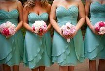 Pink and turquoise weddings