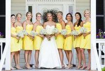 Yellow weddings / Pastel sunny weddings