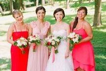 Red and pink weddings / My favourite combination!