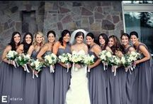 Grey weddings / From dark charcoal to light grey