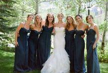 Navy blue weddings