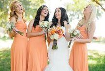 Orange weddings