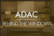ADAC: Behind the Windows / Twice a year, ADAC invites top tier designers in the nation to create vignettes using the finest interiors products found within ADAC showrooms.   http://www.adacatlanta.com/behindthewindows