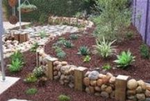 Walls, Fences & Paths / Landscaping, outside, yard ideas