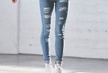jeans outfits spring-summer / jeans style - outfits, denim