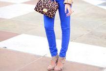 blue pants / blue-sky blue-sapphire-navy-royal-desert blue-pale blue pants, capri, shorts