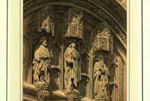 Grabados (arquitectura) / Colección de grabados de arquitectura cordobesa perteneciente a la Biblioteca Provincial de Córdoba. Siglo XIX.