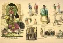 Grabados (trajes) / Colección de grabados de trajes regionales perteneciente a la Biblioteca Provincial de Córdoba. Siglos XIX-XX