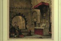 Grabados (Mezquita-Catedral) / Colección de grabados sobre la Mezquita-Catedral de Córdoba perteneciente a la Biblioteca Provincial de Córdoba. Siglo XIX.