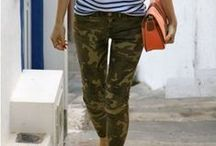 military trousers / military trousers