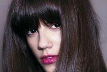 Bangs hairstyle / Bangs hairstyle