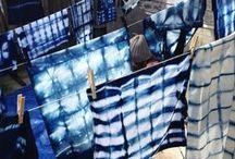 BLUE DYE / All about indigo dye shibori