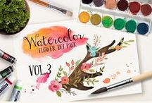 Watercolour illustrations