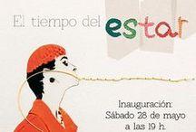Exposición de Colmado Maza en el Hotel-Arte-Restaurante La Demba, en Abizanda (Huesca)