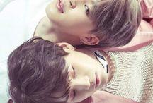 yoonmin / • min yoon gi & park ji min •