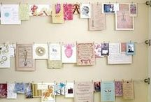 how do you pin yours? / inspirational card displays