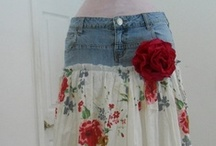 DIY woman clothes / love my sewing machine