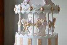 carousel cake / carousel cake