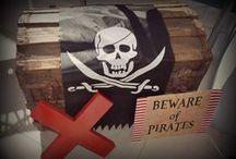 Pirate Birthday / Pirate Themed Birthday Party Ideas!