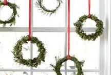 Jul / DIY julepynt - så enkelt både at udføre og i udtryk, at børnene kan være med til at lave det og at man har lyst til at hænge det op.