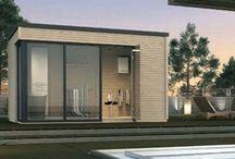 Chalets et bungalows / Découvrez notre gamme d'abris en bois pour aménager une belle pièce à vivre dans votre jardin, ou simplement un pratique espace de rangement !