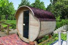 Saunas d'extérieur / Découvrez le concept innovant du sauna en extérieur sur Almateon.