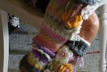 Knitted Socks and Slippers
