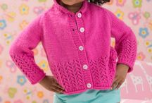 Girls Knitting Patterns / Quick Autumn/Winter knits for little girls.