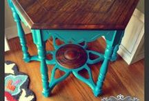 {teal} U0026 {turquoise} UPcycled Furniture / UPcycled Furniture By  RVAfurnitureworks.com