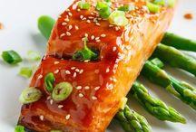 Fish / Mainly salmon