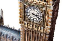 Big Ben / Big Ben is back bigger than ever with the Houses of Parliament. After the 2012 London Olympic Games and the renaming of the Clock Tower to Elizabeth Tower in honour of the Queen's Jubilee, this model should easily win the favour of many puzzle fans for many years.