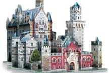 """Neuschwanstein Castle / Dubbed """"the castle of the fairytale king,"""" Neuschwanstein is Germany's most visited castle. Build it with your family, and enjoy it happily ever after..."""