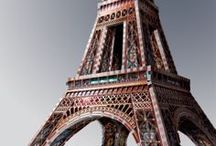 """Eiffel / Eiffel from Paris, France. Measuring 102cm / 40"""" high, this 3D puzzle will charm you with its 816 pieces and its most detailed illustration. A sure WOW!"""