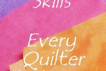 Quilting Tutorials / I'd best take some lessons and guidance so that I know what I'm doing before cutting my precious fabrics.