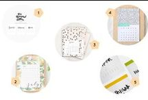Lovely Printables / Printables handpicked from around the web, free or not, from makers, bloggers and creatives.