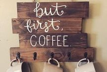 Coffee Addict / Because I freely and fully admit my coffee addiction.