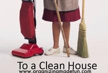 Cleaning Info / by Jeanie Burke
