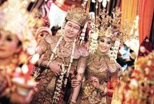 Wedding Idea / Songket of South Sumatera, Kebaya of Central Java or Islam Bride