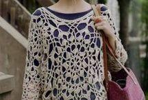 CROCHET-CLOTHING / Clothing / by Susan Bertucci