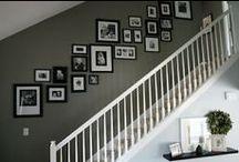Wonen - Collage aan de muur