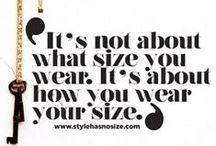 Girls With Curves / Fashion for the larger sized woman.  / by Heather Robbins