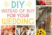 DIY wedding  >//< / do it yourself diy wedding arts and crafts make it on your own how to make it boho bohemian gypsy outdoor