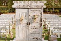 doors >//< / old doors rustic wedding decor style design bohemian southern old vintage