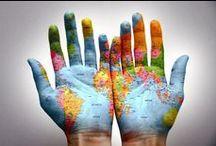 De wereldkaart / Wat je allemaal kunt doen met de wereldkaart..